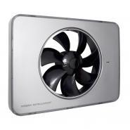 Ventilator FRESH Intellivent 2.0 argintiu cu elice neagra, Garantie 5 ani, Timer reglabil, Auto-control al umiditatii, Functionare silentioasa Consum 5 W, 134 mc/h, Maxim 21 dB(A), Fabricatie Suedia